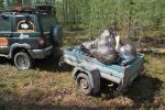 Предварительная уборка территории мусора